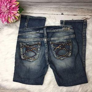 Silver Jeans Frances Capri size 26